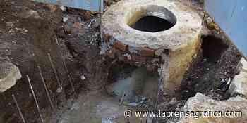 Instalan tuberías en la quebrada Tiscuco - La Prensa Grafica