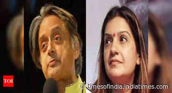 Role reversal: Tharoor, Priyanka Chaturvedi turn interviewers for Sansad TV