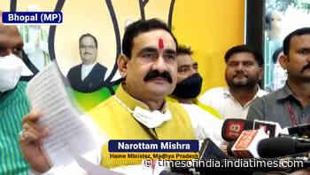 Narottam Mishra calls Rahul Gandhi 'Ichchadhari' Hindu