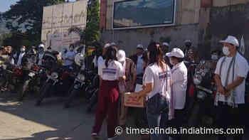 Bike rally to create awareness on Ayushman Bharat flagged off in Itanagar