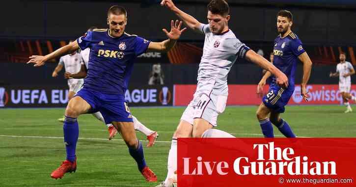 Leicester City v Napoli, Rangers v Lyon and more: Europa League – live!
