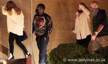 Adele keeps things casual as she enjoys a dinner date with boyfriend Rich Paul - Daily Mail
