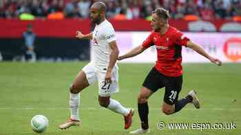 Spurs suffer injury scares in ECL draw at Rennes