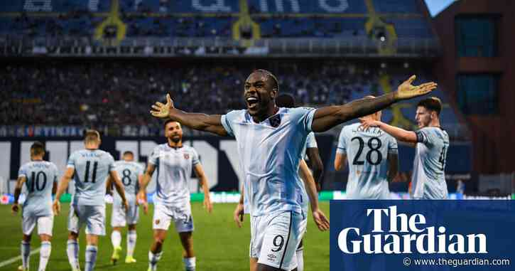Michail Antonio and Declan Rice fire West Ham to victory at Dinamo Zagreb