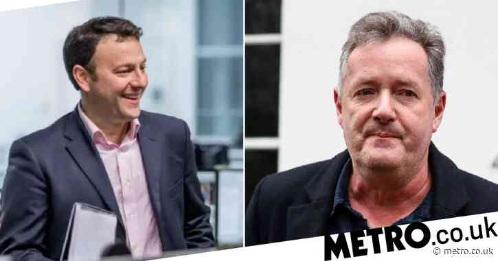 Piers Morgan pays tribute to 'class act' Geoff Hill as ITV news editor dies aged 52