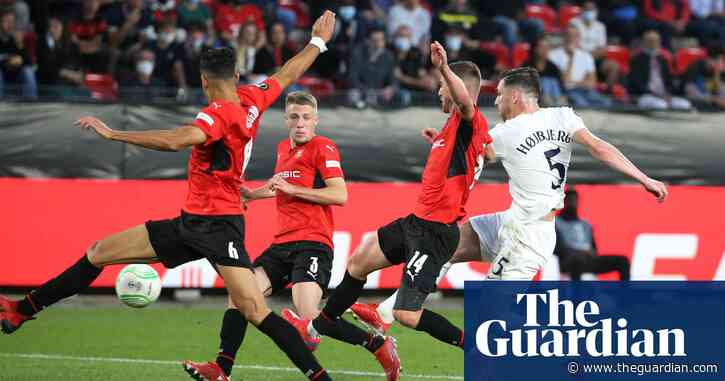 Højbjerg pops up to rescue Conference League point for Tottenham at Rennes
