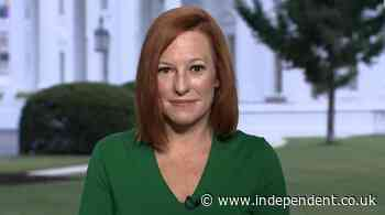 Psaki says no medical 'issue of concern' over Biden's persistent cough