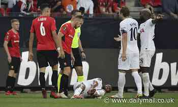 Nuno Espirito Santo curses Tottenham's 'TERRIBLE' luck with injuries after 2-2 draw at Rennes