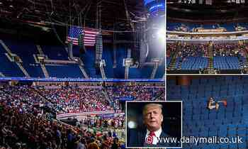 Trump furiously declared rally the 'biggest f***ing mistake' after TikTok prank left seats unfilled