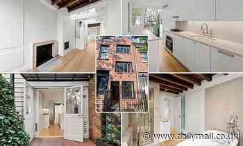 Squeeze into the Manhattan property market with NYC's NARROWEST home