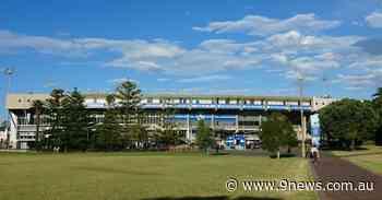 Sydney's first drive-through vaccine hub opens in footy stadium - 9News