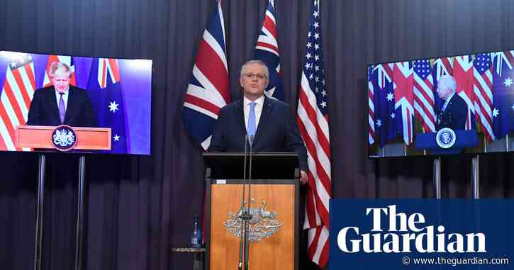 Morrison expects US to ramp up military presence in region as China attacks 'irresponsible' defence pact