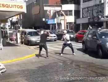 Violenta gresca entre un trapito y otro sujeto en Quilmes centro - Perspectiva Sur