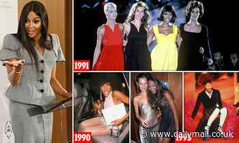 After violent outbursts, court appearances and scandal, Naomi Campbell has a surprising new role