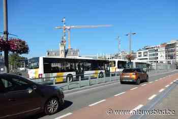Bussen paraat voor schoolse drukte