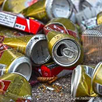 Müllsammeln in Menden - Radio MK