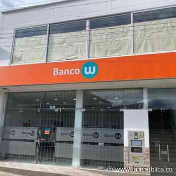 El Banco W abrió oficina en Garagoa, Boyacá, con lo que completa 158 sucursales - La República