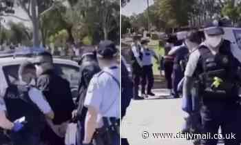 Outrage as police storm Muslim funeral in Sydney's west and arrest four people