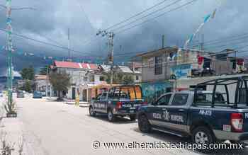 Saldo Blanco en Fiestas Patrias, transcurrieron en paz en San Cristóbal - El Heraldo de Chiapas