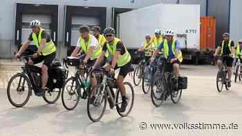 Radfahrer strampeln für die Energiewende auch durch Haldensleben - Volksstimme