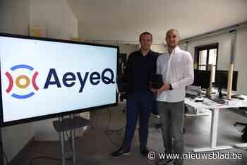 Stefaan wint met zijn start-up Europese award dankzij slimme camera<BR />