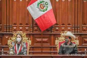 Presidente Castillo participó en sesión solemne por 199 aniversario del Congreso - Agencia Andina