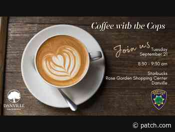 Danville PD Set For Next Coffee With The Cops Event - Patch.com