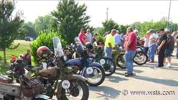 Motorcycle Cannonball passes through Danville - WSLS 10