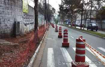 Prefeitura retoma obras na avenida Casa Grande e rua Rio de Janeiro - ABCdoABC