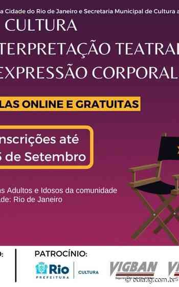 Projeto E-Cultura oferece aulas gratuitas de teatro - O Dia