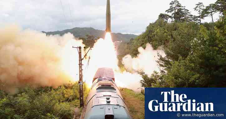 North Korea fired ballistic missiles from train amid rising tensions with the South