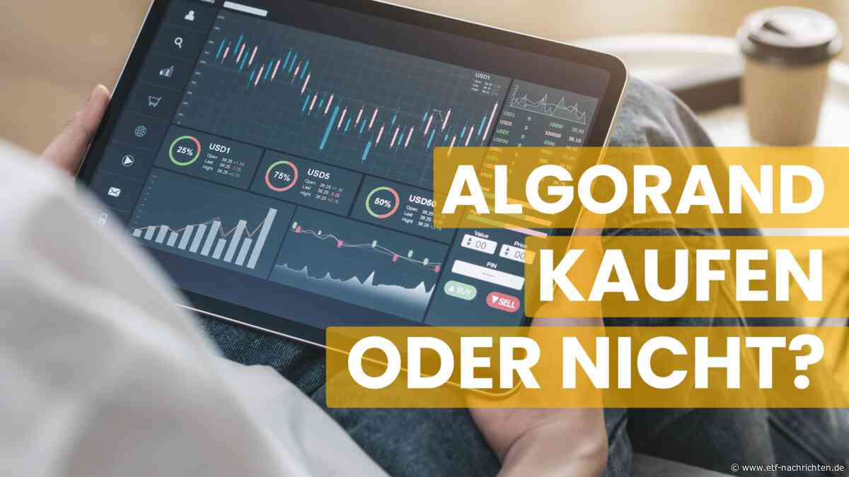 Algorand kaufen: Warum ALGO diese Woche zu den besten Krypto-Investments gehört - ETF Nachrichten