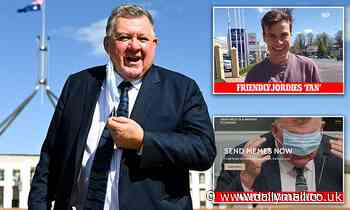 Controversial MP Craig Kelly's personal website gets a foul-mouthed revamp thanks to internet troll