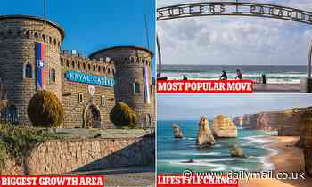 The regional places Australians are moving to escape Sydney and Melbourne