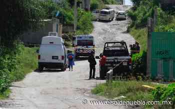 En canal de aguas negras, hallan cadáver en Santa Lucía - El Sol de Puebla