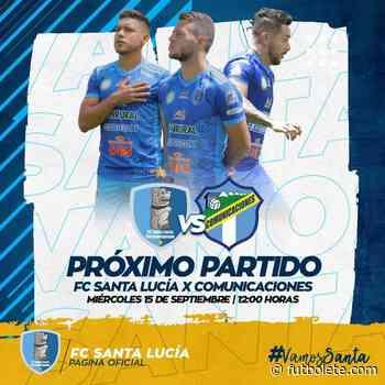 ¿Dónde ver en vivo Santa Lucía vs Comunicaciones por la Liga Nacional de Guatemala? - Futbolete