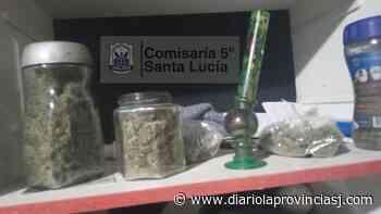 Buscaban un celular robado en Santa Lucía y hallaron marihuana - Diario La Provincia SJ