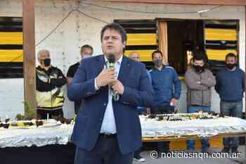 Gaido participó de los festejos del 105 cumpleaños del club Pacífico - Noticias NQN