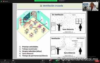 Capacitan a personal universitario de Tecomán y Manzanillo en protocolos antiCovid-19 - El Comentario