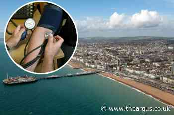 Revealed - number of Brighton residents who ignore their blood pressure