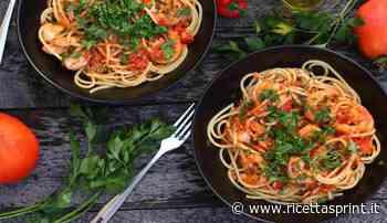 Spaghetti con nduja noci e gamberi | piccante e appetitoso - RicettaSprint