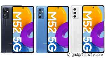 Samsung Galaxy M52 5G Price, Specifications Leak Ahead of Launch via Retailer Listing in Poland