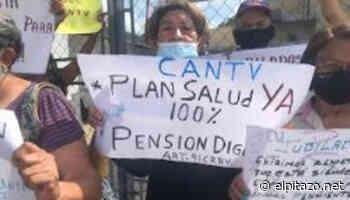 Jubilados de Cantv protestan para exigir atención médica en Cabimas - El Pitazo