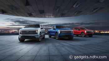 Ford F-150 Lightning Production Capacity to Be Boosted to 80,000 per Year, Will Go on Sale Next Year