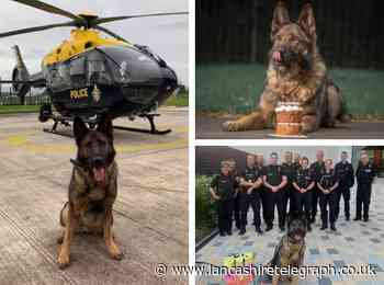 From rookie to retiree - PD Kato hangs up his lead after six years tracking Lancashire's criminals