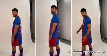 El back de fotos del Kun Agüero en el Barcelona que se volvió viral: el gesto que despertó carcajadas - infobae
