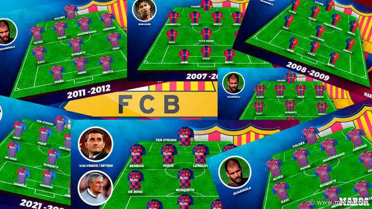 ¿Tiene el Barça su once de menos nivel de los últimos 15 años? - MARCA
