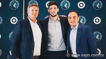 Leandro Bolmaro deja el Barcelona y jugará en los Timberwolves - ESPN