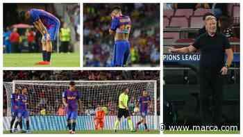 Cunde el pánico en el Barça, pero Koeman sigue - MARCA