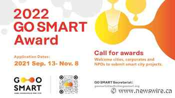 2022 GO SMART Award Welcomes World's Smart Cities Solutions & Practices to Learn, Share and Compete with One Another